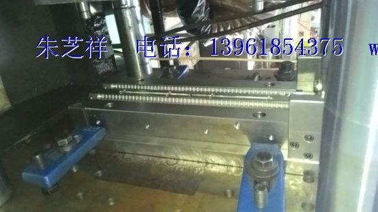 Winding filter skeleton Injection mold