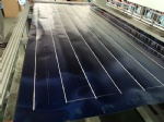 Ultrasonic solar panels welding machine